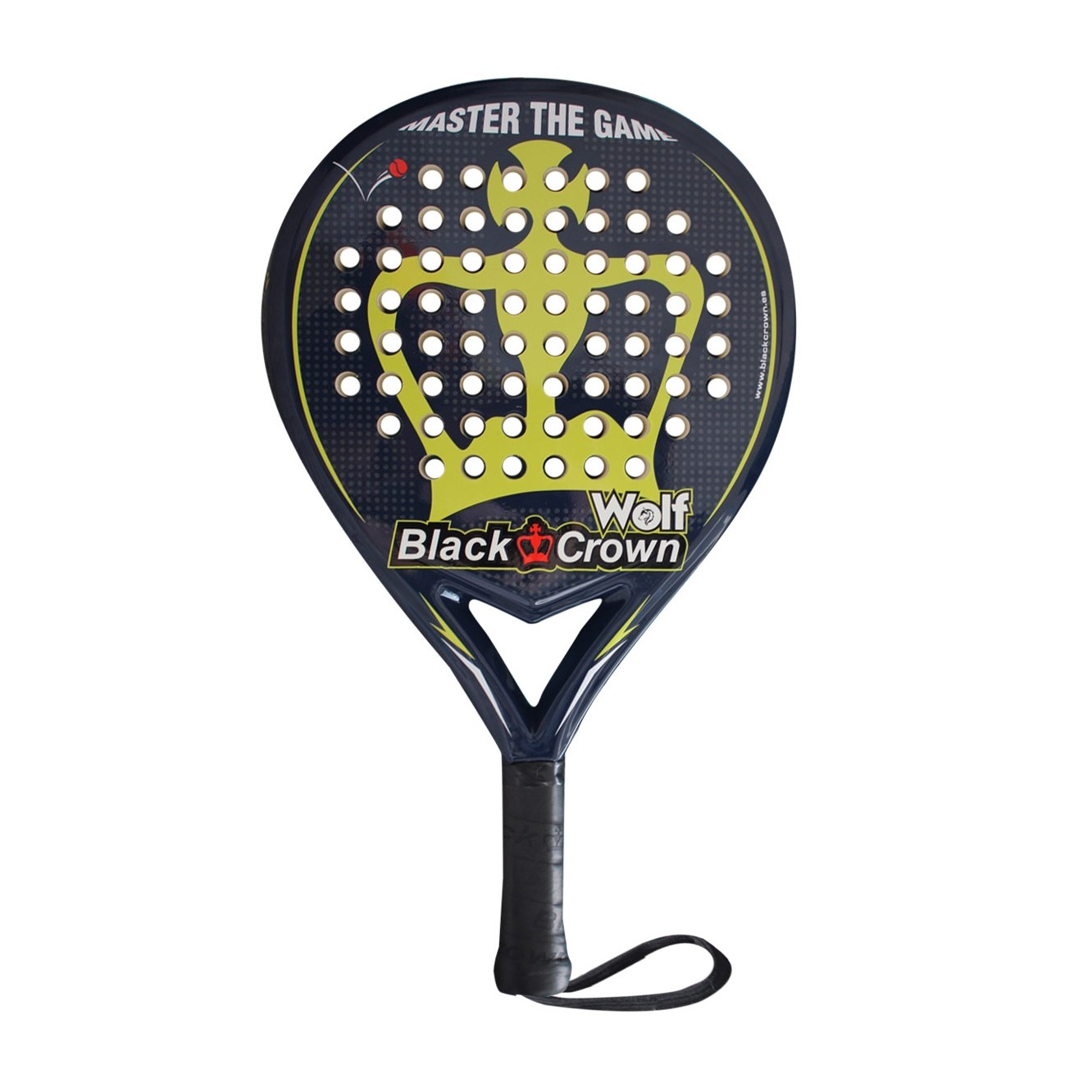 Pala de pádel Black Crown Wolf