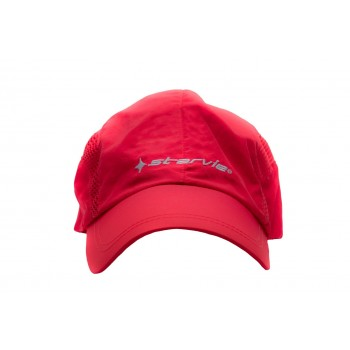 Frente Gorra roja Star Vie