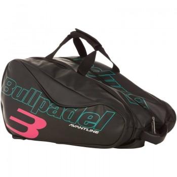 Paletero pádel marca Bullpadel Avantline Negro-Rosa
