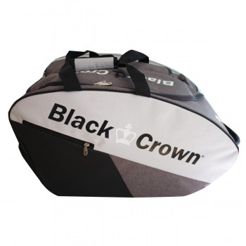 Paletero de pádel Black Crown Calm gris