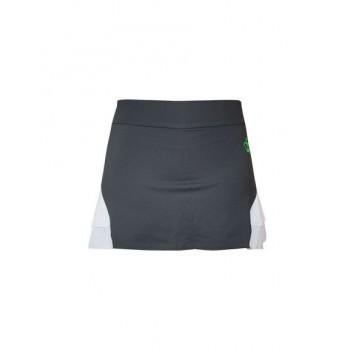 Falda de pádel Tirana gris/blanco