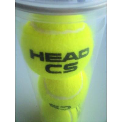 Pelotas de pádel de la marca Head CS